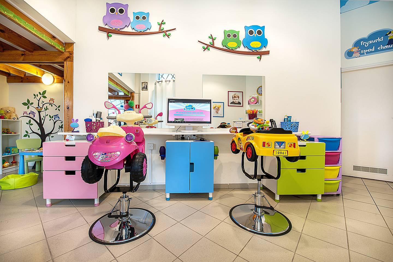 Salon fryzjerski dla dzieci